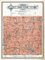 Spring Water Township, Waushara County 1914